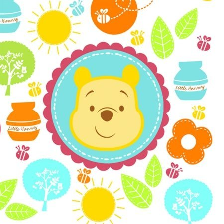 Winnie the Pooh 'Little Hunny' Baby Shower Small Napkins (16ct)