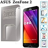 ZenFone 2 ガラスフィルム 5.5インチ ZE551ML / ZE550ML ASUS 液晶保護 透明 強化ガラス 国産 フィルムガラス ラウンドエッジ加工 MS factory 90日 保証 FD-ZF2-GLASS-CL