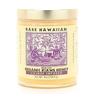Rare Hawaiian Organic Kiawe Honey Lilikoi Infused, 8 Ounce
