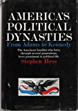 Americas political dynasties from Adams to Kennedy