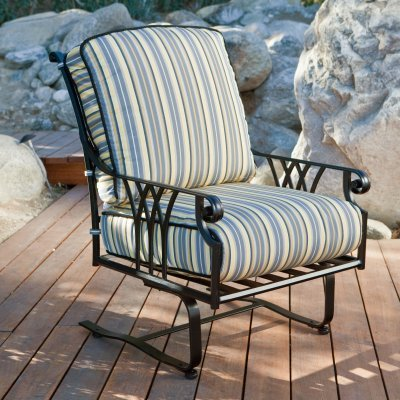 O.W. Lee Montrachet Spring Club Patio Lounge Chair - 1095-SB-56051-T38