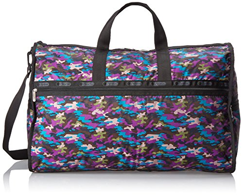LeSportsac Extra Large Weekender Handbag,Contempo Camo,One Size