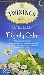 Twinings Nightly Calm Tea Bags, 20 Count by AmazonUs/TWAC9