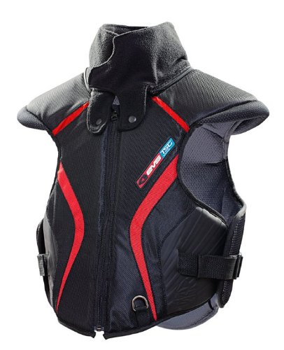 EVS Sports Black/Red SV1 Trail Protective Snow Vest