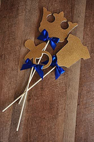 Royal prince baby shower decorations little for A new little prince baby shower decoration kit