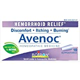 Boiron Avenoc Hemorrhoid Relief Suppositories, 10 Count
