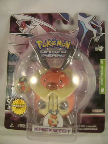 Pokemon Diamond & Pearl Figure & Marble Set Kricketot - 1