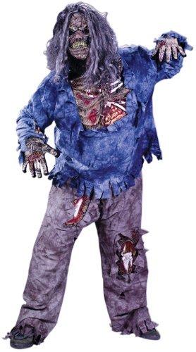 [Fun World Men's Complete 3D Zombie Skeleton Costume by Fun World Costumes] (3d Skeleton Zombie Costumes)
