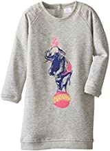 Egg by Susan Lazar Little Girls39 French Terry Elephant Dress