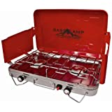 Basecamp by Mr. Heater Deluxe Two Burner Stove (Red)