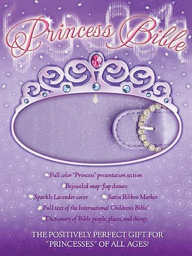 Princess Bible: Lavender - International Children's Bible