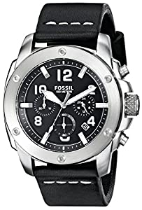 Fossil Men's FS4928 Analog Display Quartz Black Watch