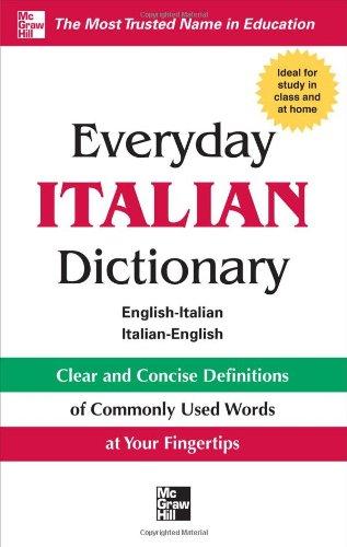 Everyday Italian Dictionary (Everyday Series)
