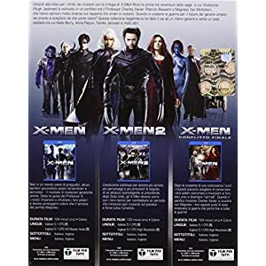 X-men - Trilogy [Blu-ray] [Import italien]