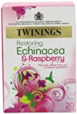 Twinings Fresh and Fruity Echinacea and Raspberry 20 Teabags (Pack of 8,Total 160 Teabags)