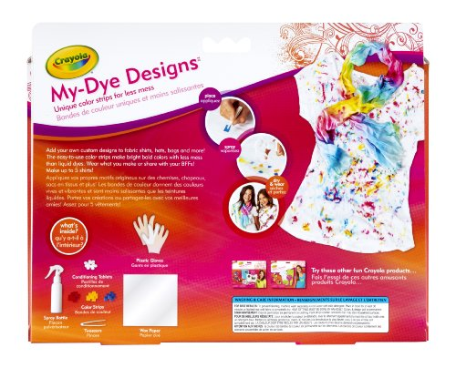 Crayola Easy My-Dye Designs