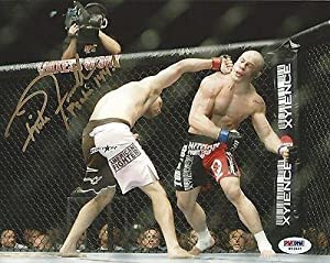 Rich Franklin Signed UFC 8x10 Photo COA Picture Autograph 53 56 58 64 77 - PSA/DNA Certified - Autographed UFC Photos