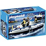 Playmobil - 5263 - Jeu de Construction - Bateau des Douaniers