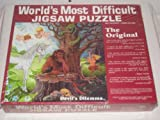 1987 World's Most Difficult Two Sided Puzzle - 529 Piece Jigsaw Puzzle - Devil's Dilemma