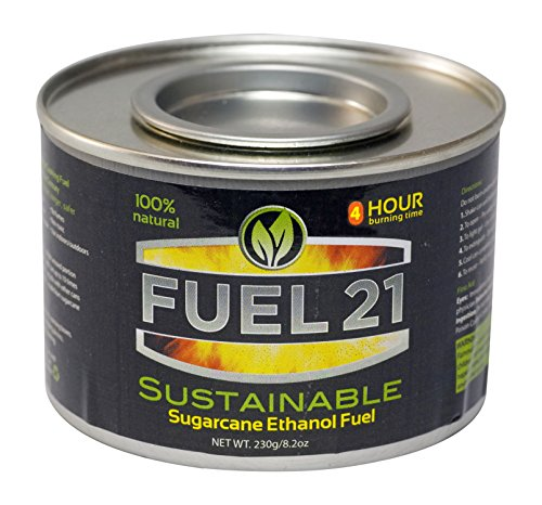FUEL 21 chafing fuel 4hour, 12 Piece