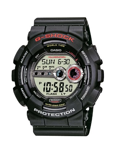 Casio GD-100-1AER G-SHOCK Mens Digital Resin Strap Watch