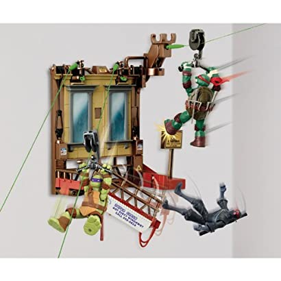 Teenage Mutant Ninja Turtles Z-Line Window Wipeout Basic Playset