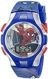 Marvel Comics Kids' SPMKD581FL Digital Display Quartz Blue Watch