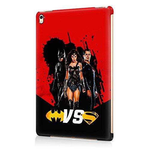 Batman Vs Superman Battle Hard Snap-On Protective Case Cover For Apple iPad Pro 9.7