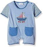 SALT AND PEPPER BG Playsuit short stripe-Polaina Bebé-Niñas    Blau (classic blue 449) 3 mes