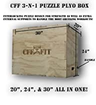 CFF 3 – N – 1 Wood Puzzle Plyo Box -…