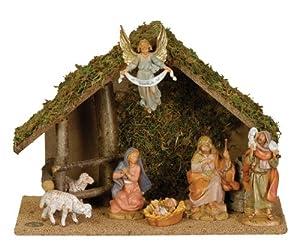 Fontanini by Roman Figure Centennial Nativity Set with Italian set 7
