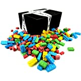 Candy Blocks by Cuckoo Luckoo Confections, 2 lb Bag in a BlackTie Box