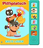 """Soundbuch """"Pitteplatsch"""" Erste Lieder: 6 bekannte Kinderlieder"""
