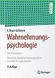 Wahrnehmungspsychologie: Der Grundkurs