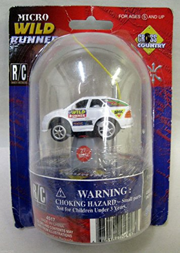 Excite Limited R/C Micro Wild Runner Cross Country Radio Remote Control Car - 1