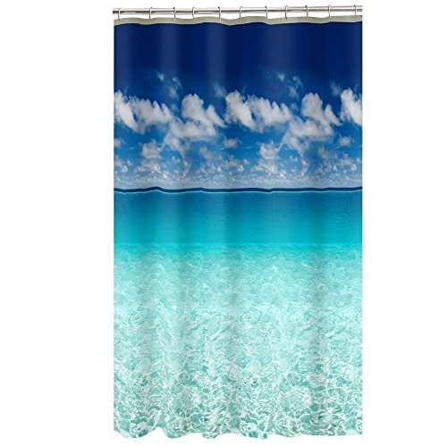 Maytex Escape Photo Real Peva Vinyl Shower Curtain front-975918
