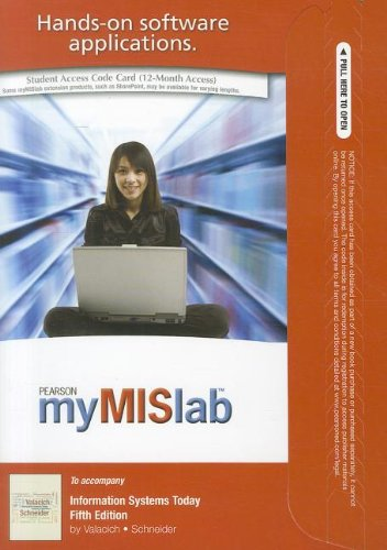 MyMISLab with Pearson eText -- Access Card -- for Information Systems Today