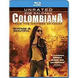 Colombiana (+ UltraViolet Digital Copy) [Blu-ray]