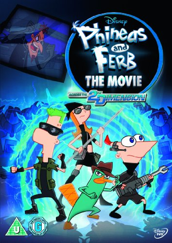 Phineas & Ferb: Across the 2nd Dimension [DVD]