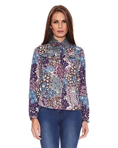 Tonalá Camicia Donna Burgos [Blu]