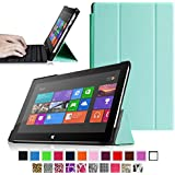 Fintie SlimShell Case for Microsoft Surface RT / Surface 2 10.6-Inch Tablet Ultra Slim Lightweight Stand Cover (Does Not Fit Windows 8 Pro Version) - Blue