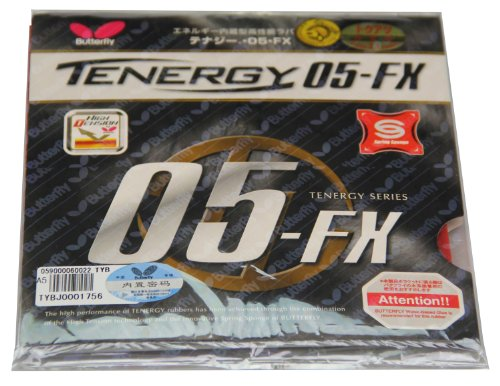Cheapest Prices! Butterfly Tenergy 05 FX Table Tennis Rubber