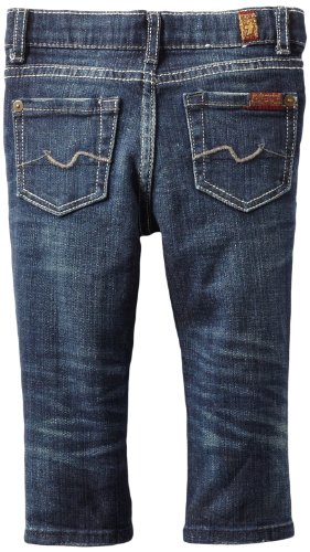 7 For All Mankind Baby-boys Infant The Slimmy, Indigo Washed, 24 Months