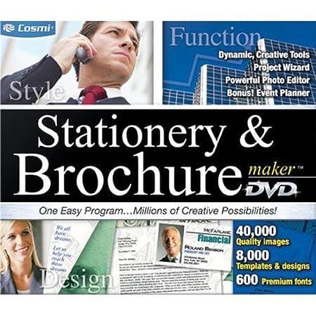 Cosmi Stationary And Brochure Maker - Windows