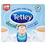 Tetley Decaffeinated Tea Bags 4x80 per pack