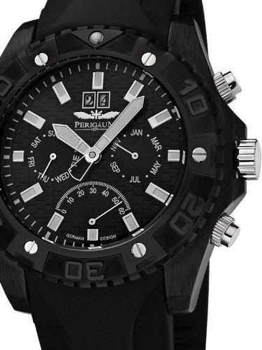 Perigaum 1972 Automatic Reloj para hombres Carcasa Maciza