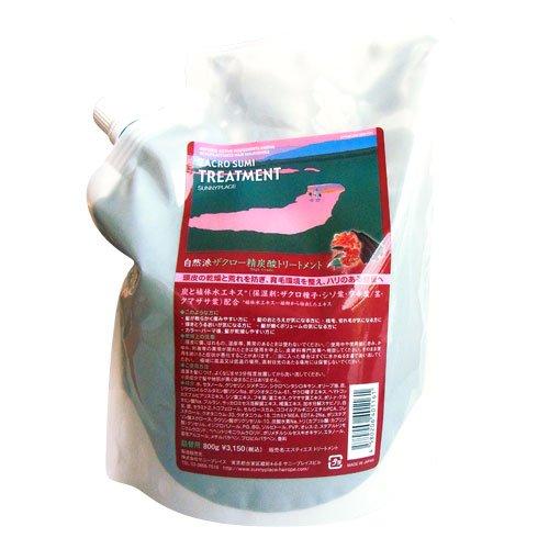サニープレイス ザクロ精炭酸 トリートメント 800ml 詰替え用