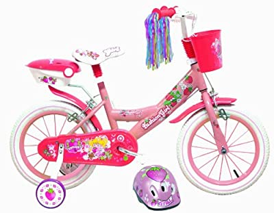 "14"" Childrens Fashion Girl Bicycle with FREE Helmet from Denver Srl. Italy"