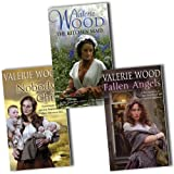 Valerie Wood Valerie Wood 5 Books Collection Pack Set RRP: £37.95 (Fallen Angels, Nobody's Child, Annie, Going Home, Emily)