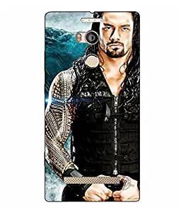 Case Cover Abstract Printed Logo Cut Colorful Hard Back Cover For Gionee ELife E8